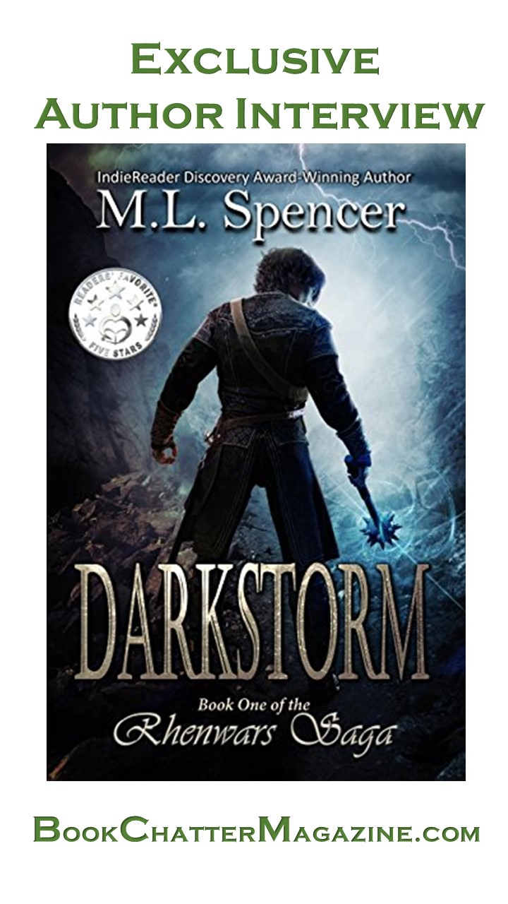 M.L. Spencer (Author) Exclusive Interview